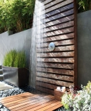 shower outdoor kolam renang