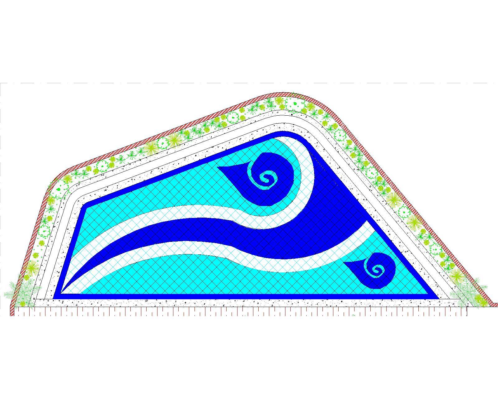 30.Kolam Cilandak-Model