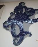Logo Monogram Mozaik kolam renang, sangat cocok untuk diaplikasikan sebagai dekorasi dinding dan lantai kolam renang_1